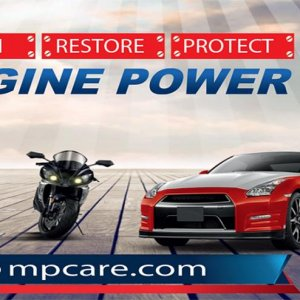 motor power care banner