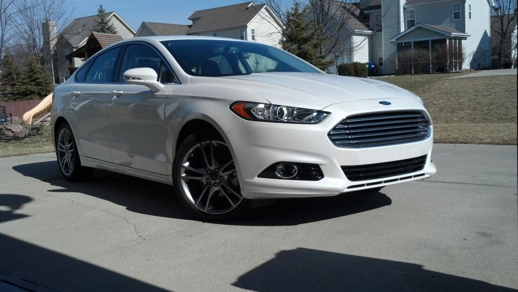 2013 fusion titanium not a bad first new car fordfusionclubcom the 1 ford fusion forum